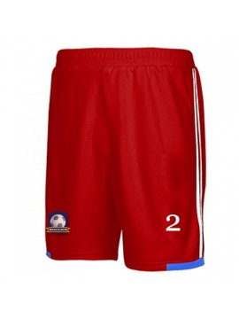 red shorts for football players