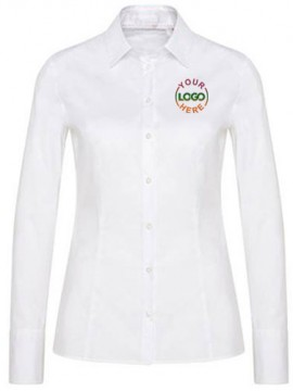 White Corporate Shirt For Women