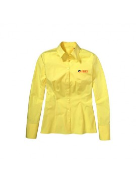 Yellow Stylish Women Shirt