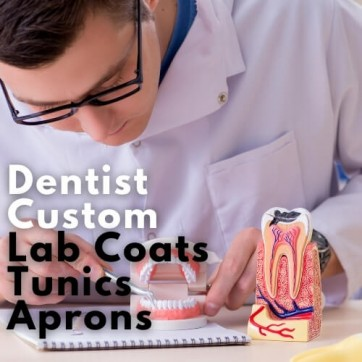 Unifomrtailor - Dentist Lab Coats , Aprons And Tunics