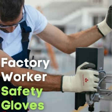 Unifomrtailor - Factory Worker Safety Gloves