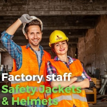 Unifomrtailor - Factory Worker Safety Jackets & Helmets