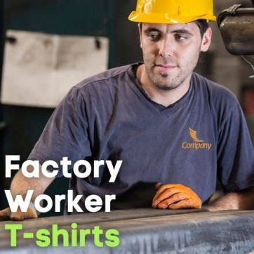 Unifomrtailor - Factory Workers Uniform T-Shirts